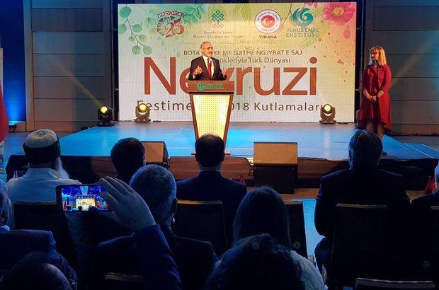 Cumhurbaşkanı Başdanışmanı Topçu Arnavutluk'ta temaslarda bulundu