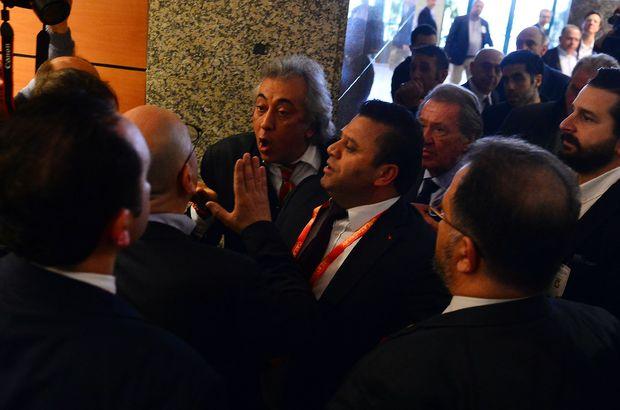Son Dakika: Galatasaray kongresinde ortalık karıştı!