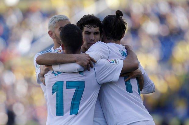 Bale yıldızlaştı, Real Madrid Las Palmas karşısında kazandı!