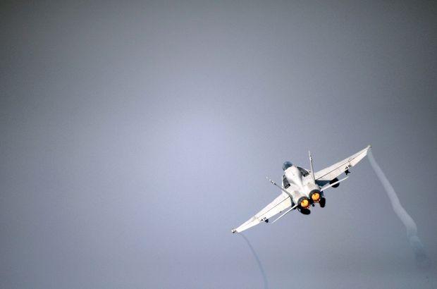 Umman'da askeri hava aracı düştü