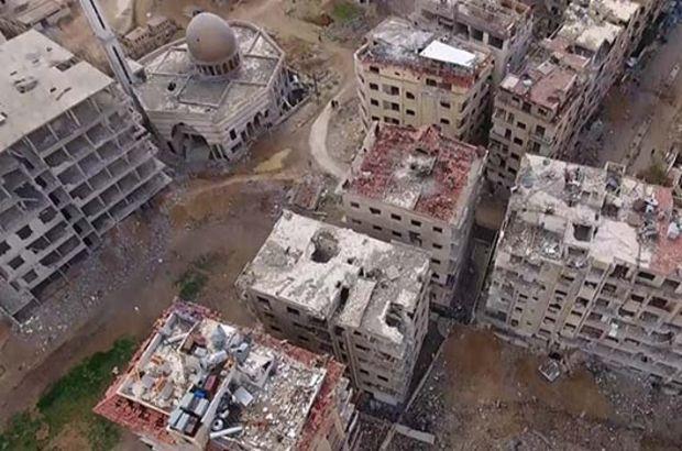 Esad rejimi, Türkiye Diyanet Vakfı'nın barınma merkezini vurdu
