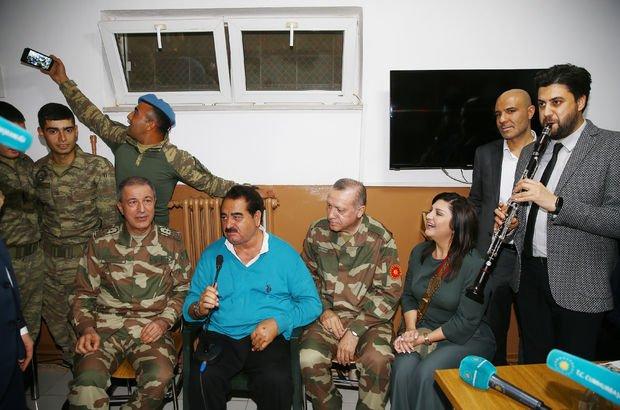 Tatlıses'ten Cumhurbaşkanı Erdoğan'a özel 'Afrin' türküsü