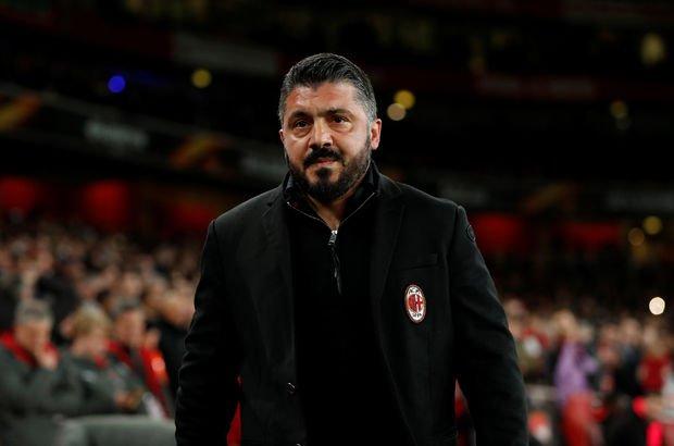 Gattuso'dan Hakan'a sert sözler!