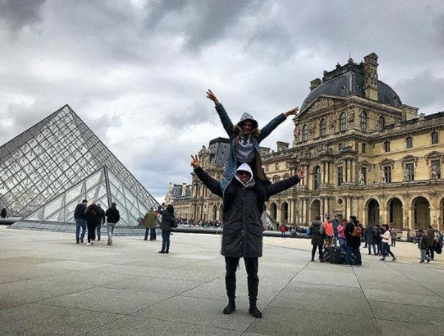 İbrahim Çelikkol ile eşi Mihre Çelikkol, Paris'te aşk tazeledi! - Magazin haberleri