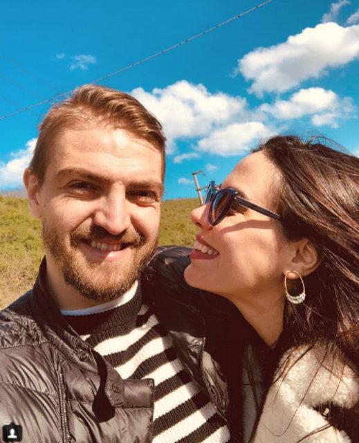 Caner Erkin, eşi Şükran Ovalı'nın doğum gününü kutladı - Magazin haberleri
