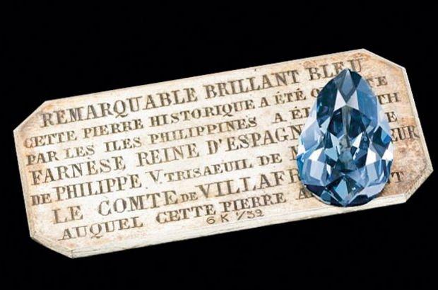 303 yıl önce çıkarılmıştı! Nadir bulunan mavi elmas satışta!