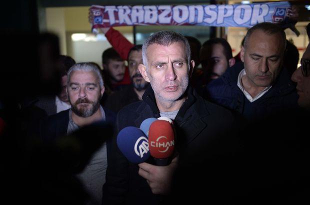 Trabzonspor'da hakemlerin alıkonulması davasında karar!