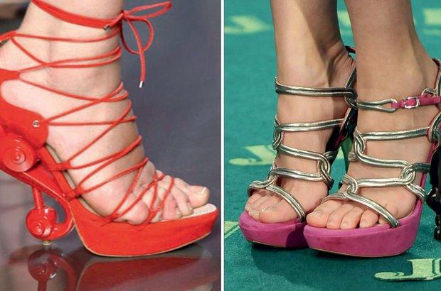 Topuklu ayakkabı zaafı!