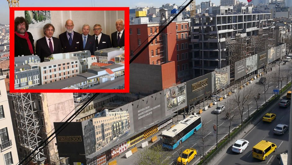 Dünyaca ünlü işadamı İstanbul'da! Projeyi yerinde inceledi