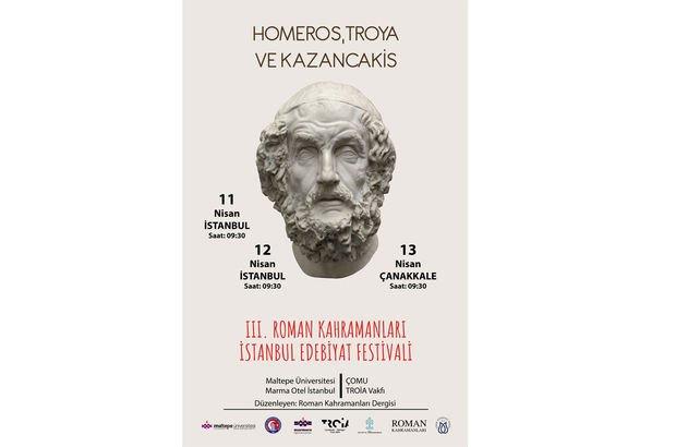 Roman Kahramanları İstanbul Edebiyat Festivali!