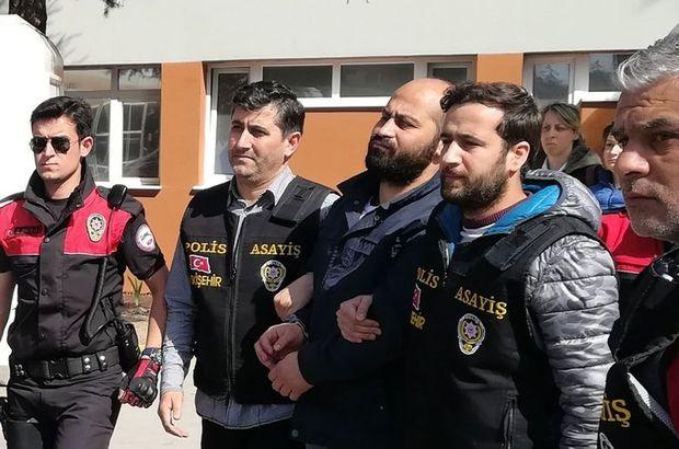 Eskişehir'de 4 kişiyi öldüren Volkan Bayar ve eşi adliyeye sevk edildi
