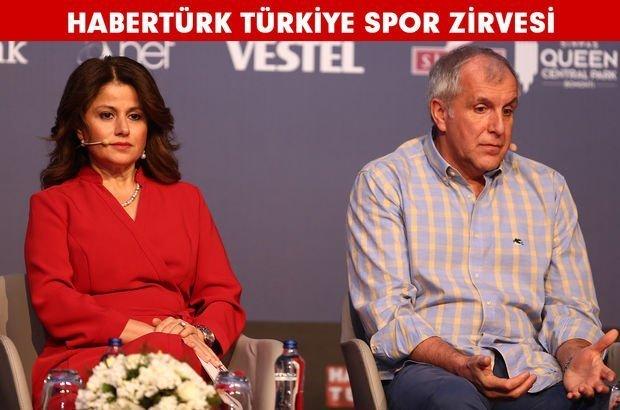 Obradovic, Habertürk Türkiye Spor Zirvesinde konuştu