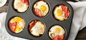 Muffin kalıbında yumurta nasıl yapılır? Muffin kalıbında yumurta tarifi ve malzemeleri...