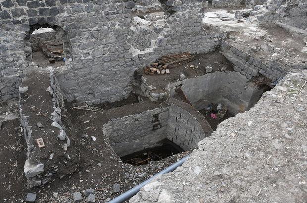 Beylerbeyi Sarayı'nda 6 metre derinlikte bulundu!