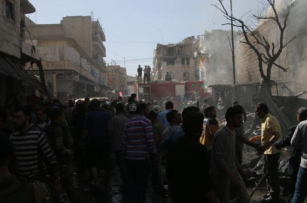 El Bab'da bombalı saldırı: 9 ölü!