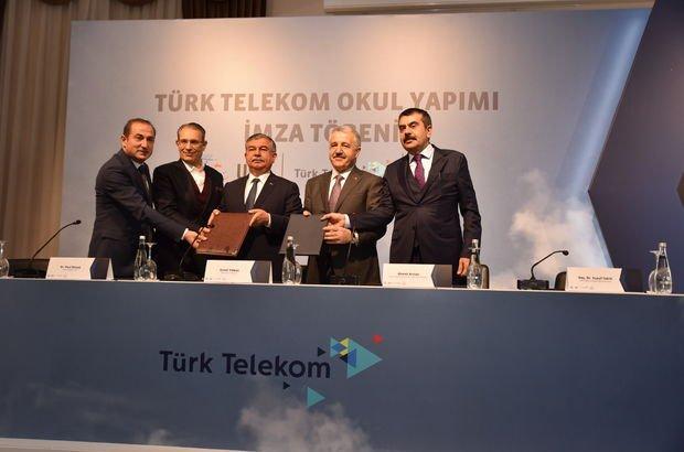 Türk Telekom'dan eğitim için 8 yeni proje
