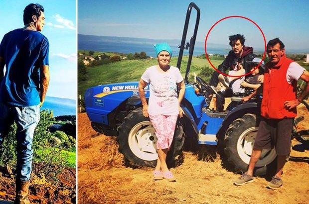 Ünlü oyuncunun çiftlik hayatı