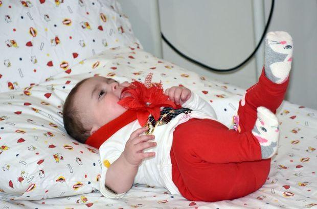 Dünyada sadece 10 kişide bulunan hastalığa kapılan bebek şifayı Alanya'da buldu