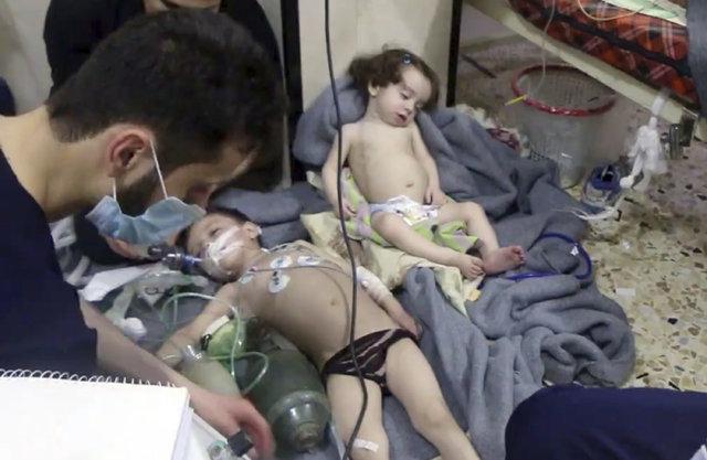 Fotoğraflarla Duma'daki kimyasal saldırı: Çoğu çocuk onlarca kişi öldü, 1000'den fazla kişi etkilendi!