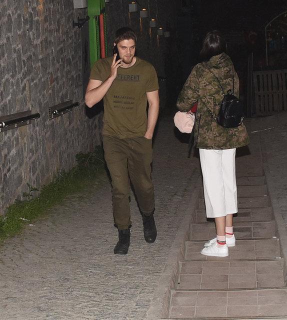 İdris Nebi Taşkan tescilli güzel Ecem Çırpan'la görüntülendi - Magazin haberleri