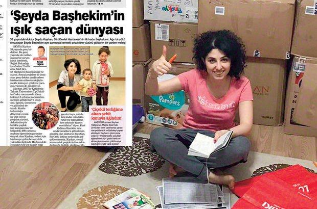 Habertürk yazdı, Siirt'e destek yağdı! 25 günde 800 yardım kolisi