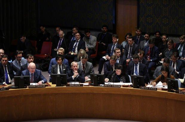 Rusya'nın Suriye tasarısı veto edildi