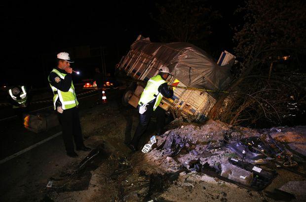Nevşehir'de feci kaza! Çok sayıda ölü var