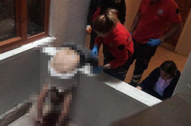 Şok! Arkadaşının oturduğu apartmanda kanlar içinde bulundu!