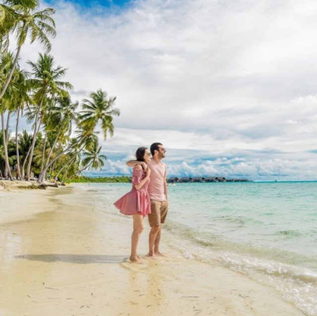 Murat Yıldırım ile eşi Imane Elbani, Maldivler'de - Magazin haberleri