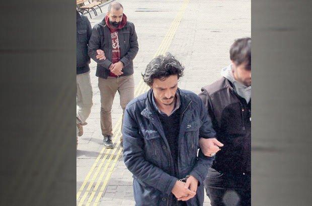 Erzincan uyuşturucu kuryesi polisler