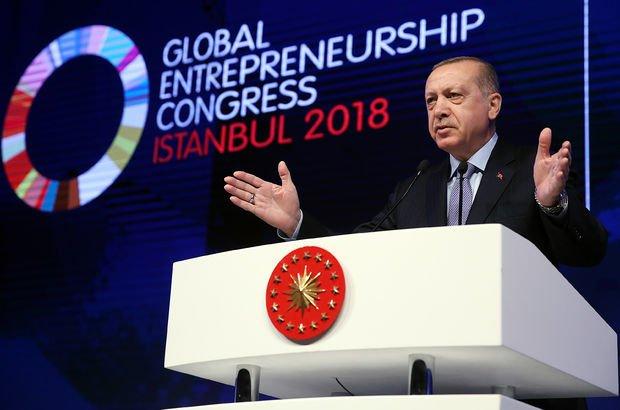 Cumhurbaşkanı Erdoğan: IMF'ye borçlanma altınla olmalı