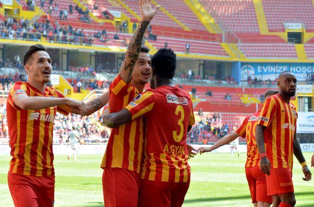 Kayserispor, Başakşehir'e puan için geliyor!