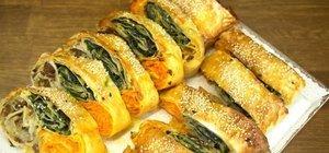 Kolay ev böreği tarifleri: Yöresel, peynirli, kıymalı ve sebzeli börek tarifleri