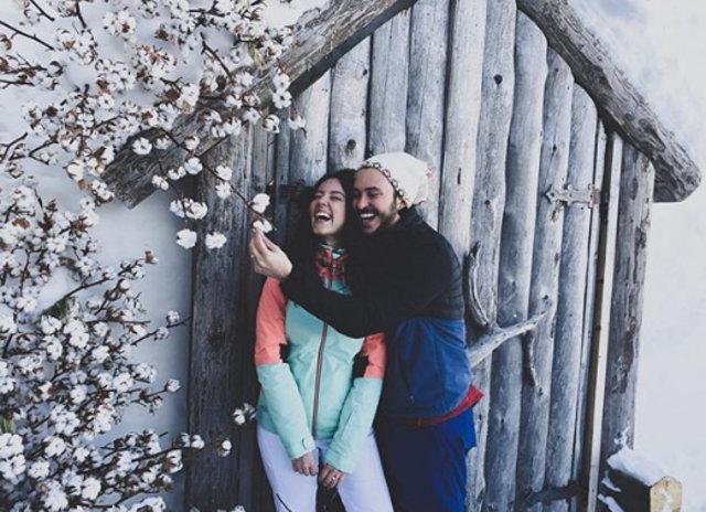 Pelin Akil-Anıl Altan çifti Kapadokya'da aşk tazeledi - Magazin haberleri