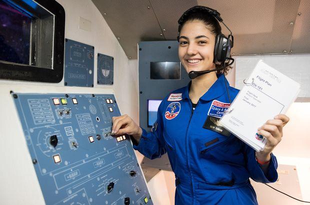 ABD'deki uzay kampına katılan tek Türk oldu! Hedefi NASA