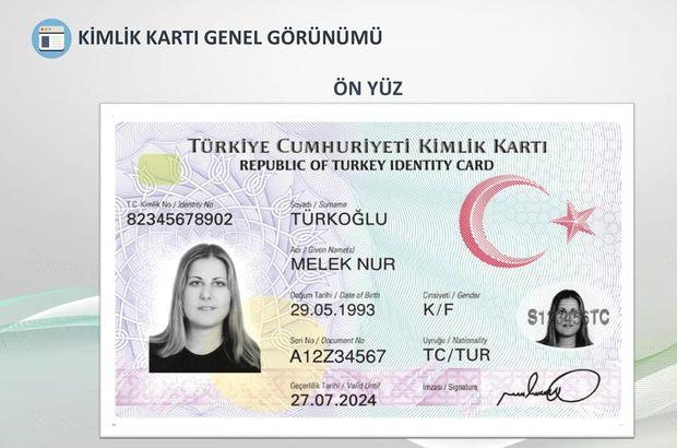Yeni kimlik kartı