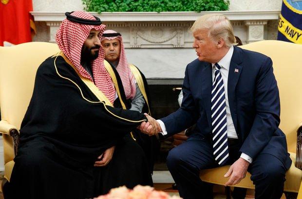 Trump'ın Suudi Arabistan'a 'şartsız desteği' tepki çekti!