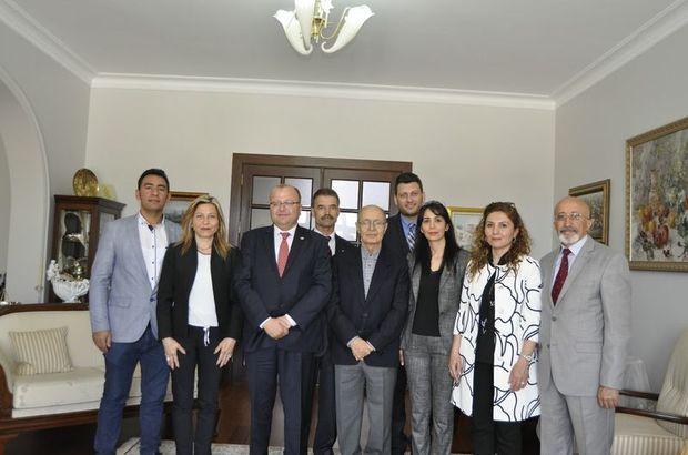 CHP'den Ahmet Necdet Sezer'e ziyaret