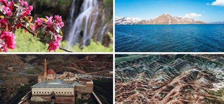 Gökyüzünden Doğu Anadolu fotoğrafları!