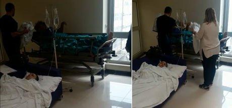 """Adana son dakika: """"Hastanede oda yok! Ameliyattan çıkan hasta bekleme salonunda yatırılıyor!"""""""
