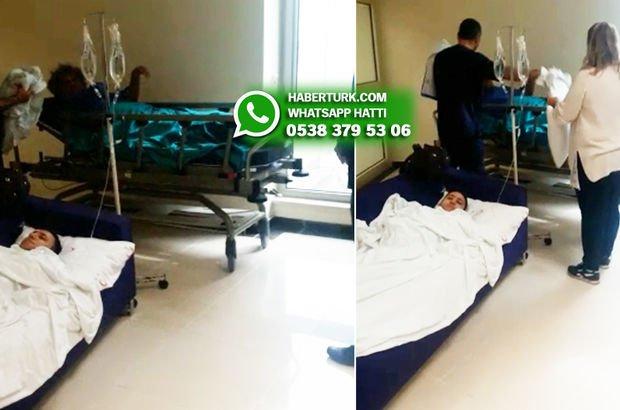 """""""Hastanede oda yok! Ameliyattan çıkan hasta bekleme salonunda yatırılıyor!"""""""