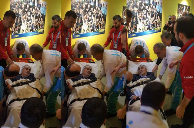 Fenerbahçe - Beşiktaş derbisinde olaylar çıktı (Olaylardan görüntüler) Şenol Güneş'in başı yarıldı