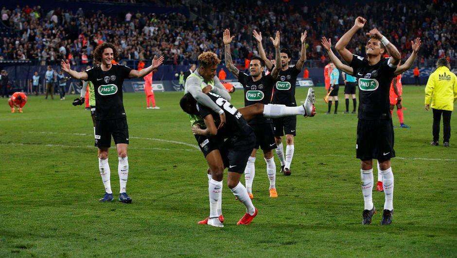 PSG, kupada finale çıktı!