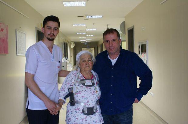 Omurgası kırılan hastanın 9 aylık çilesi bitti!