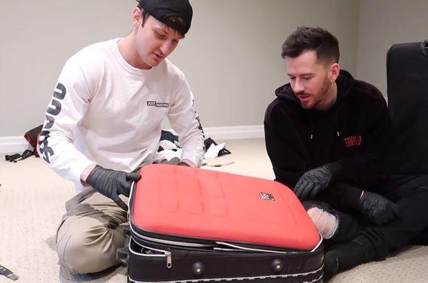 Bin dolara kayıp bavul aldı, bakın şansına içinden ne çıktı!