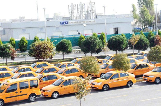 Taksicinin sorunu yine taksici
