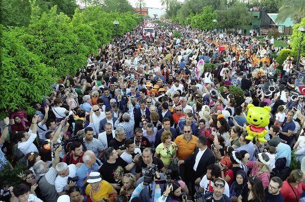 Adana Portakal Çiçeği Festivali'nde 1.5 milyon kişiyi ağırladı