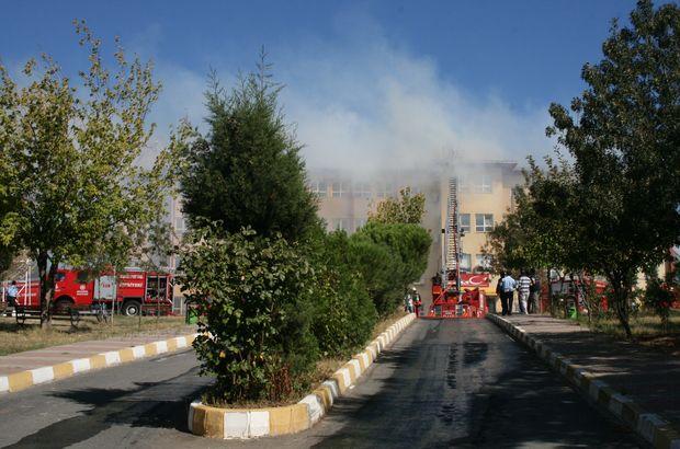 Kartal'da okulda yangın paniği