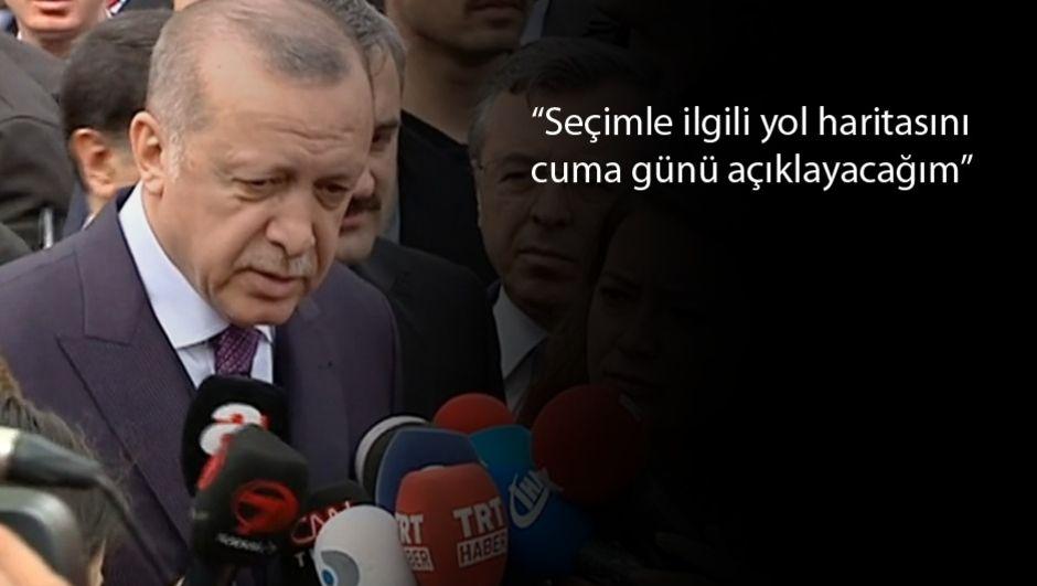 Erdoğan: Derbideki olay futbol teröründen öte, burada kumpas var