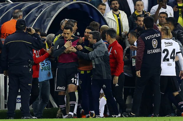 Kulüpler Birliği'nden olaylı Fenerbahçe - Beşiktaş derbisine kınama